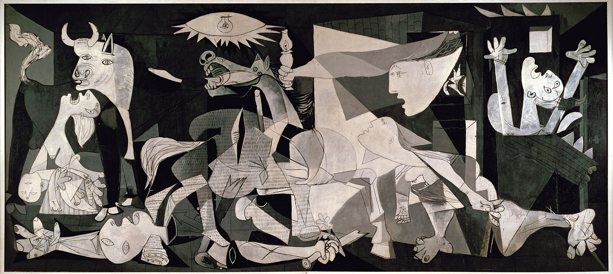 APRIL 26 = Picasso & the Death of Guernica   Today In History