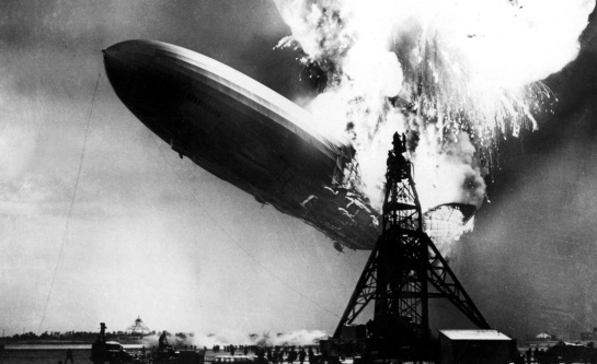 Image result for zeppelin crash
